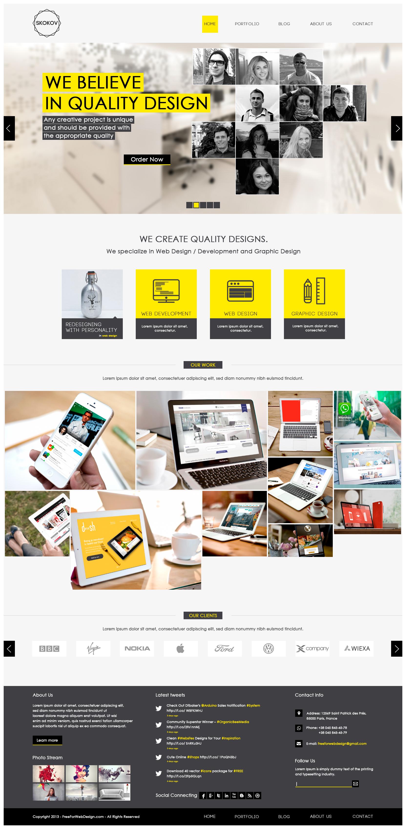 Website – Mockup